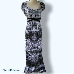 One World Energe   Boho Maxi Dress